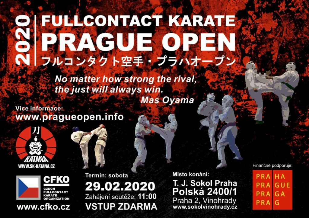 FULLCONTACT KARATE PRAGUE OPEN IKO WKK 2020