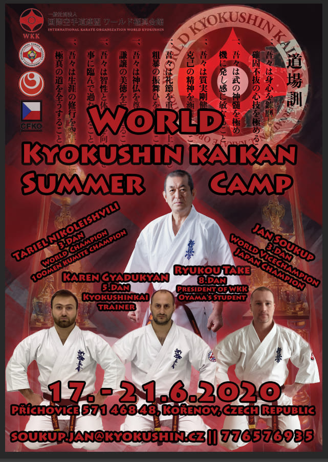 World Kyokushi KaiKan Summer Camp, Czech Republic (17-21.06.2020)